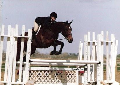 Leo with Heidi jumping (2)